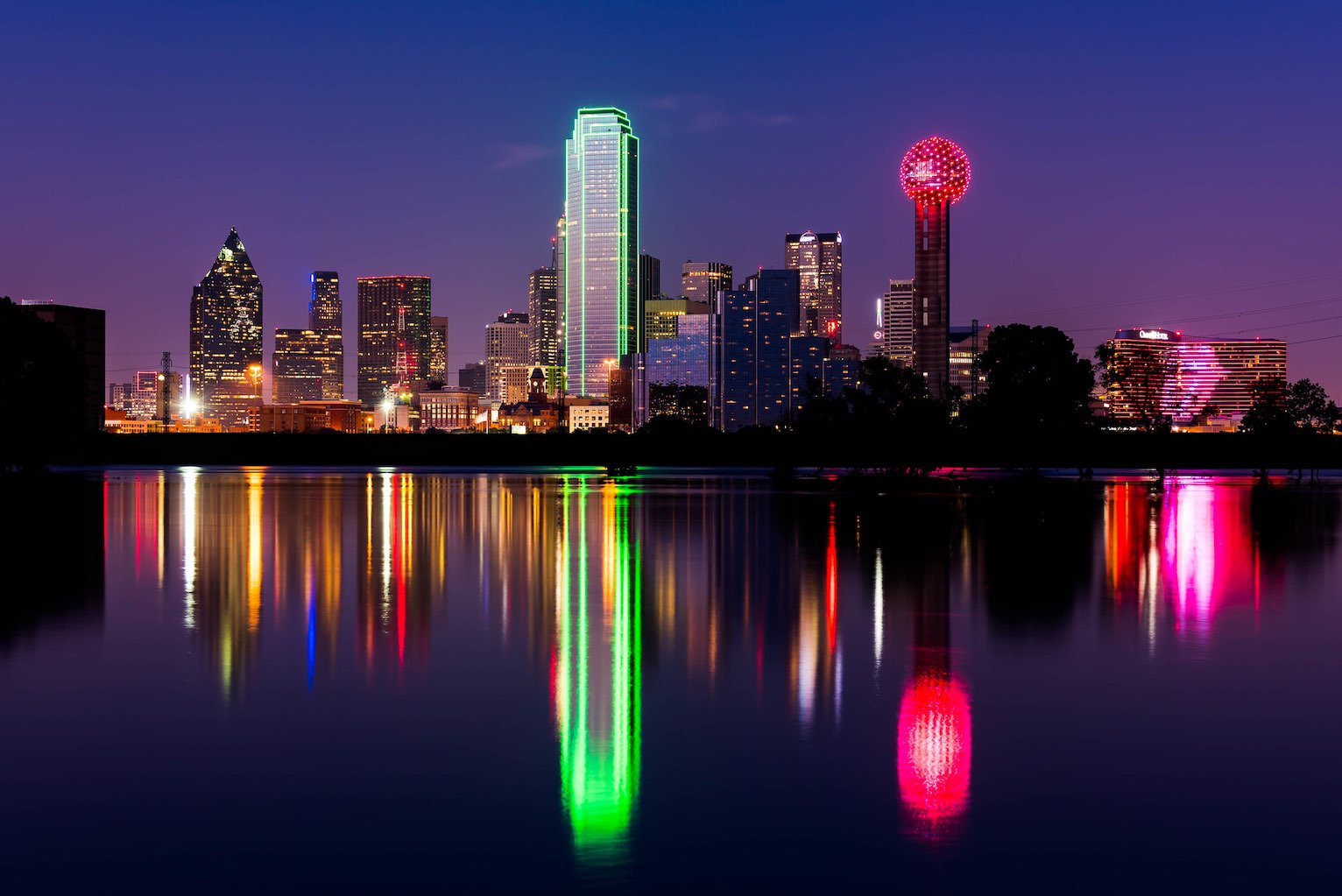 Dallas Skyline, photo by Jack Gray